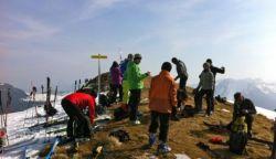 Skitourenlehrpfad Faistenau 2012