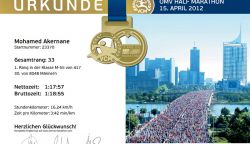 Halbmarathon Wien 2012