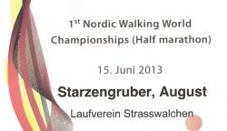 Nordic Walking WM 2013
