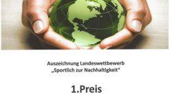 """1. Preis: """"Sportlich zur Nachhaltigkeit"""""""
